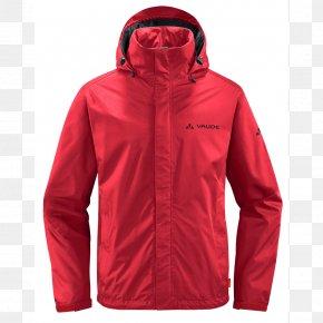 Jacket - Jacket VAUDE Clothing Raincoat Pocket PNG