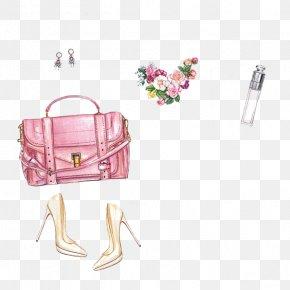 Fashion Bags - Handbag Chanel Fashion High-heeled Footwear Illustration PNG