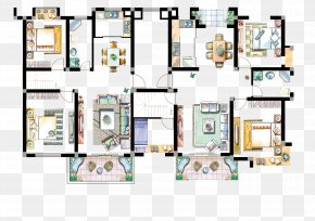 Size Chart Furniture - Floor Plan Interior Design Services Graph PNG