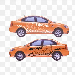 Car Model Car Stickers - Car Bumper Sticker PNG