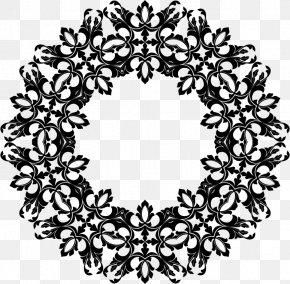 Ornamental - Flower Floral Design Clip Art PNG