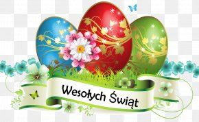 Wielkanoc - Easter Postcard Greeting & Note Cards Easter Egg Clip Art PNG