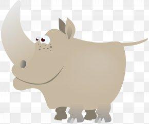 Rhino - Rhinoceros Clip Art PNG