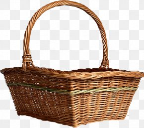 Bamboo Pick Basket Basket Material Free To Pull Graphics - Basket Software PNG