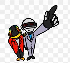 Daft Punk Picture - Daft Punk Drawing PNG