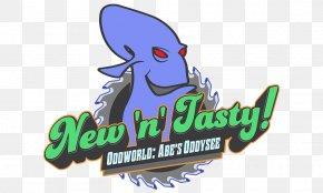 Abe's Oddysee - Oddworld: New 'n' Tasty! Oddworld: Abe's Oddysee Oddworld: Abe's Exoddus Oddworld: Munch's Oddysee Logo PNG