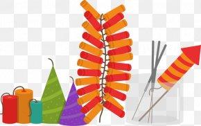 Cartoon Vector Fireworks Festival - Firecracker Chinese New Year PNG