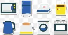 Kitchen Appliances - Home Appliance Kitchen Refrigerator Icon PNG
