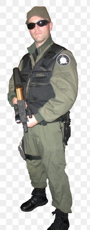 Cosplay - Jack O'Neill Stargate SG-1 Richard Dean Anderson Cosplay Costume PNG