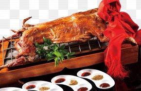 Chinese Roasted Whole Sheep Material - Tandoori Chicken Sheep Barbecue Asado Roasting PNG