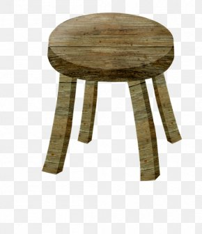Wood Stool - Wood Stool Chair PNG