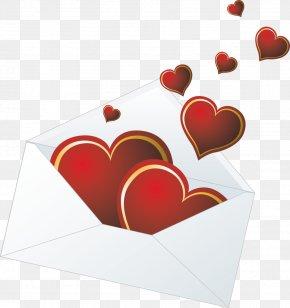 Valentine's Day - Envelope Love Valentine's Day PNG