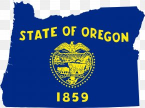 Oregon State - Flag Of Oregon State Flag Flag Of The United States PNG