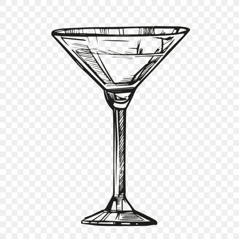 Martini Cocktail Garnish Drink Drawing Png 1024x1024px Martini Alcoholic Drink Bar Black And White Champagne Stemware