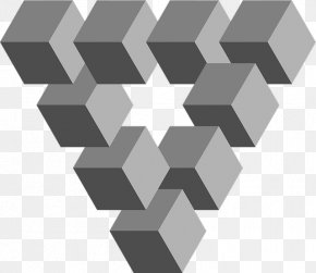 Geometric Shapes - Penrose Triangle Geometry Equilateral Triangle Cube PNG