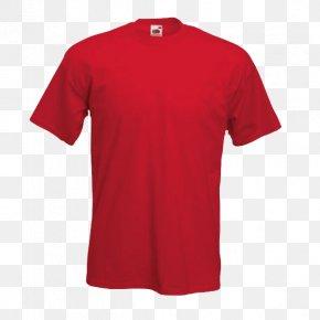 Printed T Shirt Red - Printed T-shirt Sleeve Gildan Activewear PNG