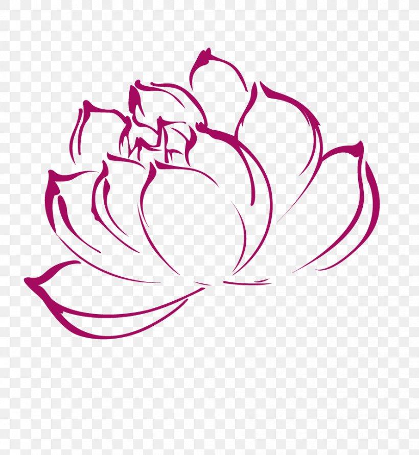 Nelumbo Nucifera Clip Art, PNG, 888x965px, Nelumbo Nucifera, Art, Color, Drawing, Flower Download Free