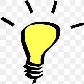 Light Bulb Hd - Incandescent Light Bulb Clip Art PNG