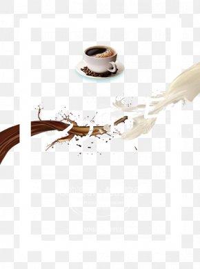 Coffee With Milk - Irish Coffee Coffee Milk Cafe Chocolate Milk PNG