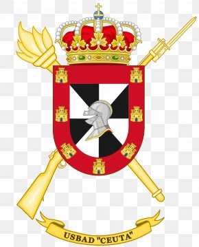 Coat Of Arms Of Ceuta - Coat Of Arms Of Spain Spanish Army Escutcheon Regiment PNG
