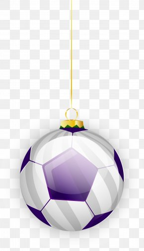 Purple Football Ornaments - Purple Football Ornament Icon PNG