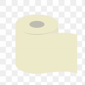 Gray Cylindrical Toilet Paper - Toilet Paper Yellow Pattern PNG