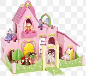 Toy House - Toy Castle Dollhouse Action Figure PNG