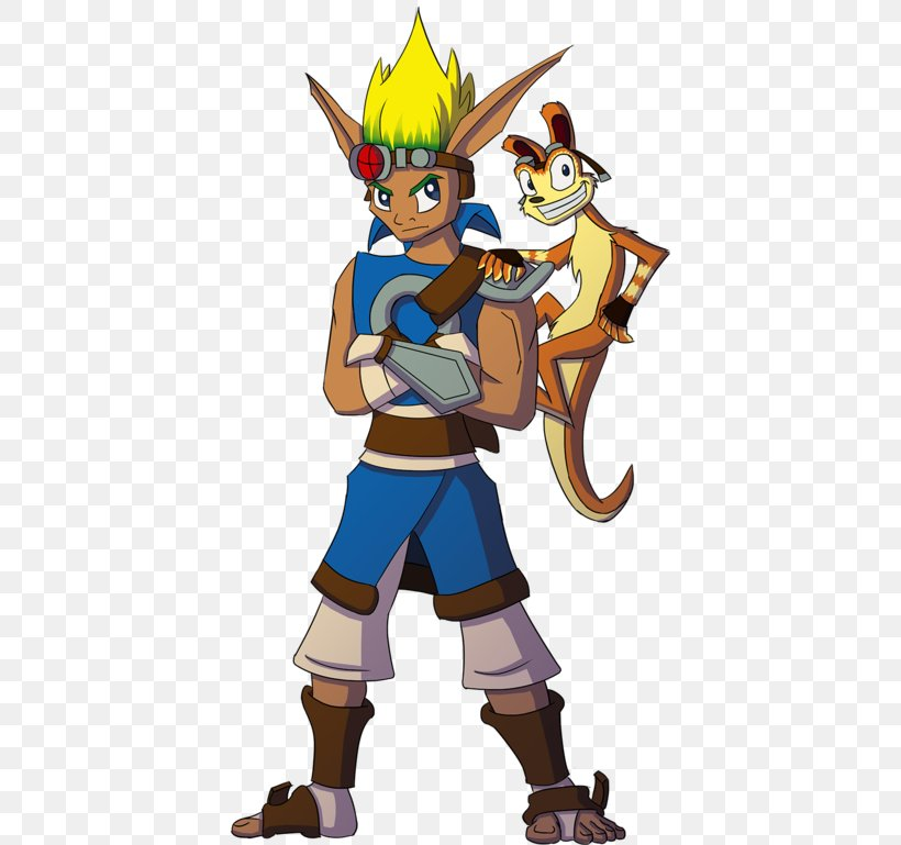 Daxter Playstation Move Heroes Jak Ratchet Clank Video Game Png