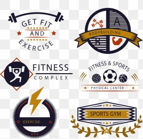 Vector Fitness Icon - Fitness Centre Golds Gym Logo PNG