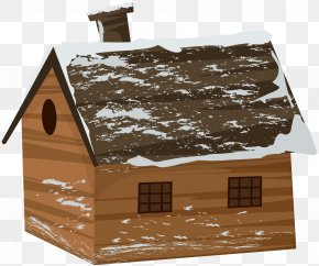 Winter Cabin House Transparent Clip Art Image - Image File Formats Lossless Compression PNG