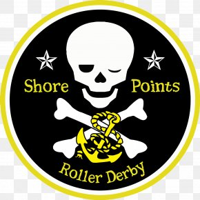 Roller Derby - Jolly Roger Piracy Flag Zazzle Totenkopf PNG
