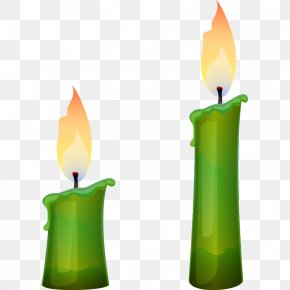Cartoon Hand Painted Candle - Candle Drawing Cartoon Computer File PNG