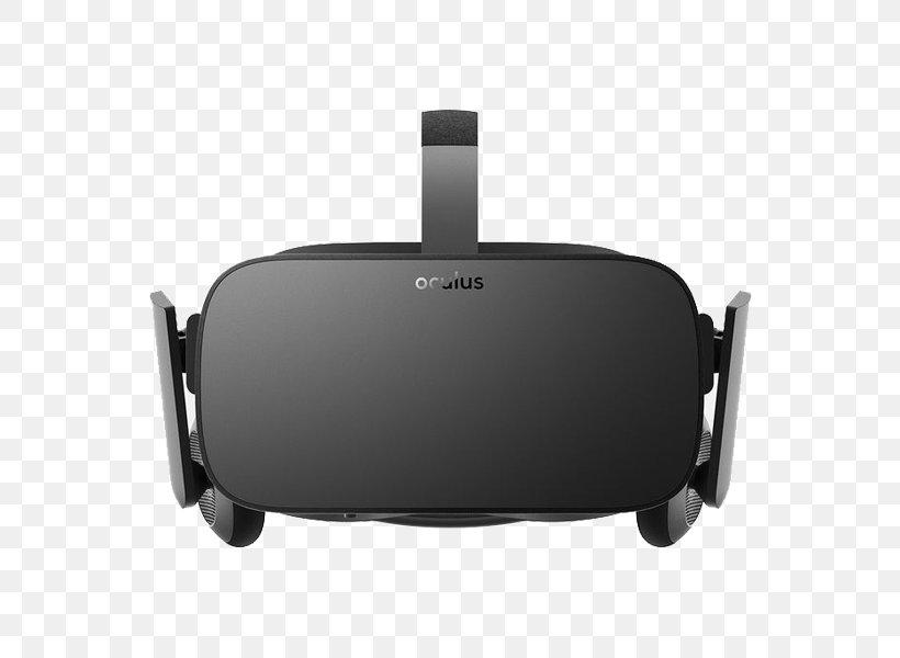 Oculus Rift HTC Vive Tilt Brush Samsung Gear VR PlayStation VR, PNG, 600x600px, Oculus Rift, Black, Electronics, Facebook, Facebook Inc Download Free