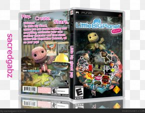 LittleBigPlanet 2 Universal Media Disc PlayStation 3 Video Game PNG