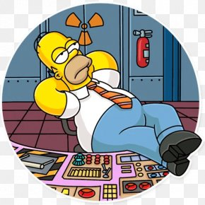 Itchy And Scratchy Poochie Homer Simpson - Sticker Telegram Illustration Homer Simpson Cartoon PNG
