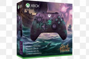 Art Of Sea Of Thieves - Xbox One Controller Sea Of Thieves Game Controllers Video Game PNG