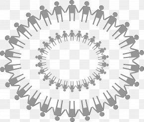 A Circle Of Bosom Friends - Circle Logo Homo Sapiens Clip Art PNG