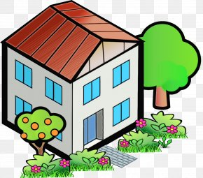 Building Real Estate - Clip Art Shed House Home Real Estate PNG