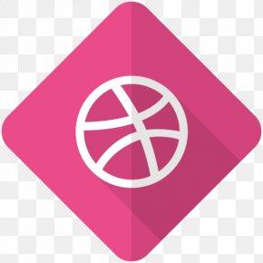 Social Media - Social Media Dribbble Logo PNG