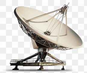 DISH - Satellite Dish Aerials Telecommunications Tower Radio Telescope PNG