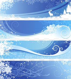 Winter Background - Winter Snowflake Euclidean Vector PNG