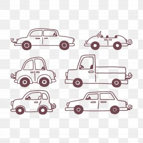 Automotive Artwork - Car Drawing Euclidean Vector PNG
