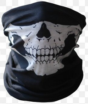 Mask - Neck Gaiter Mask Balaclava Halloween Costume PNG
