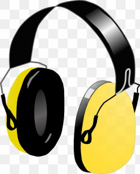 Picture Of Head Phones - Headphones Free Content Clip Art PNG