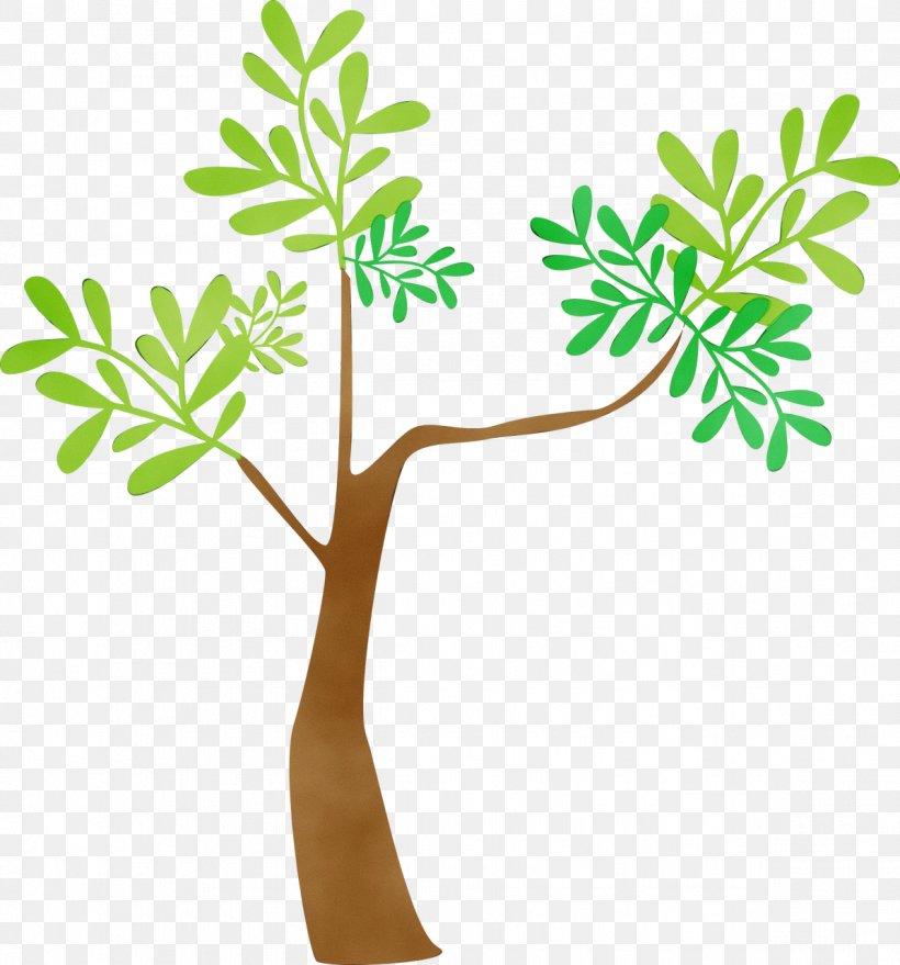 Branch Plant Stem Flower Leaf Line, PNG, 1194x1280px, Watercolor, Branch, Flower, Leaf, Meter Download Free