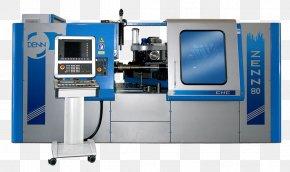 DENN Computer Numerical Control Lathe Torn De Control NumèricCnc Machine - Machine Industrias Puigjaner S.A. PNG