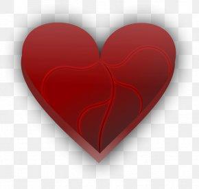 Heart Vector Art - Broken Heart Love Valentine's Day PNG