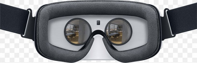 Samsung Gear VR Virtual Reality Headset Oculus Rift, PNG, 2880x922px, Samsung Gear Vr, Audio, Computer, Eyewear, Goggles Download Free