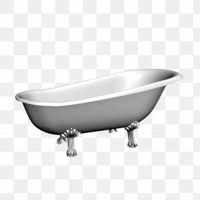Bathtub - Bathtub Bathroom Shower Tap PNG