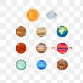 Nine Planets - Earth Solar System Planet Venus PNG